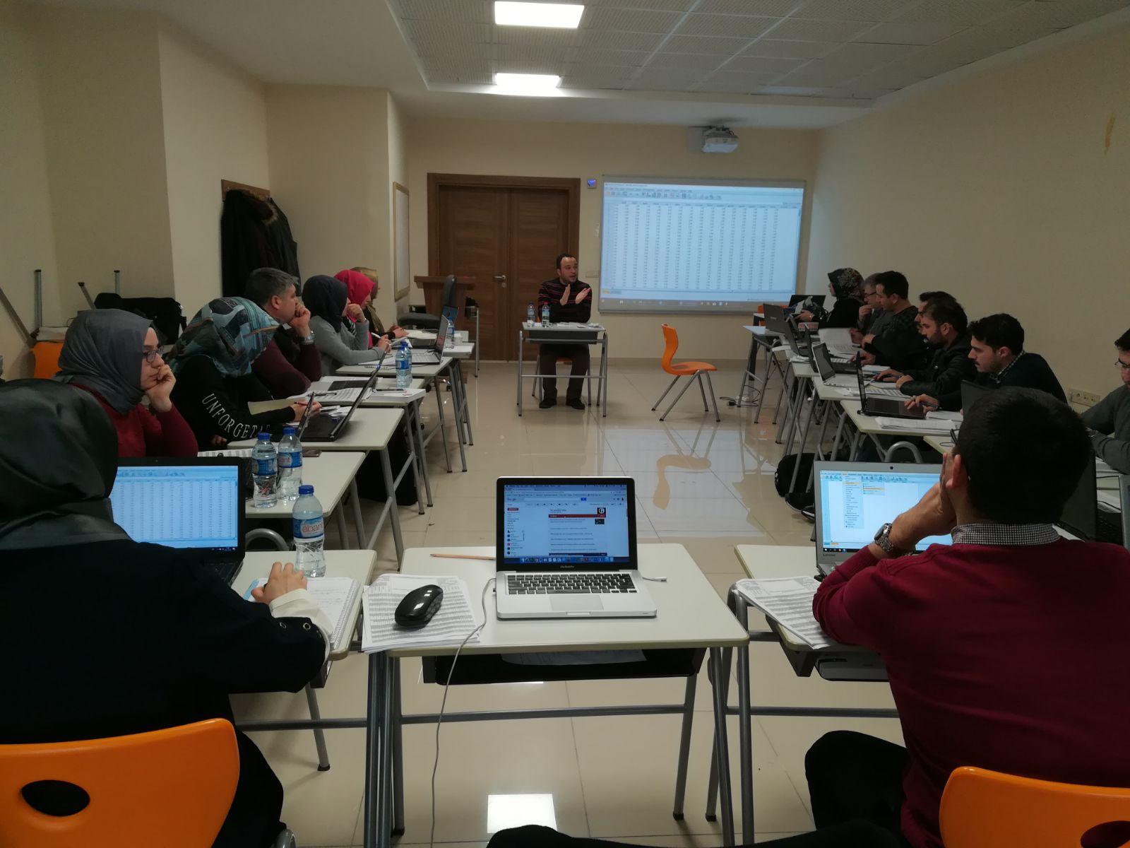 Photo of And Center tarafından temel istatistik eğitim kursu gerçekleştirildi