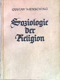Photo of Gustav Mensching (1901-1978) Tarihsel Din Sosyolojisi