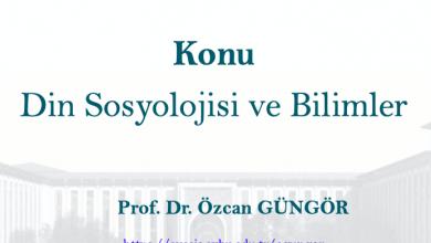 Photo of Din Sosyolojisi ve Bilimler