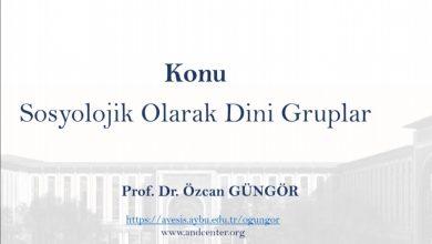 Photo of Sosyolojik Olarak Dini Gruplar